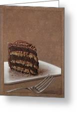 Let Us Eat Cake Greeting Card