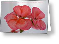 Let Your Glory Greeting Card