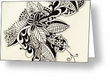 Let Your Pen Flow Greeting Card