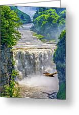 Letchworth State Park 4 Greeting Card