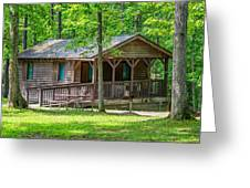 Letchworth State Park Cabin Greeting Card