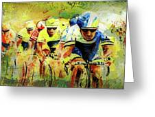 Letour De Force Madness Greeting Card