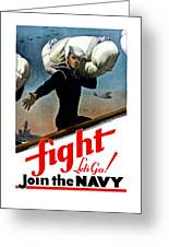 Let's Go Join The Navy Greeting Card