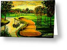 Let's Play Golf Greeting Card