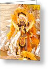 Lets Samba Greeting Card