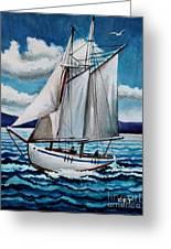 Let's Set Sail Greeting Card