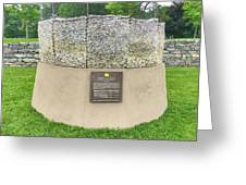 Letters Of Sacrifice Memorial Greeting Card