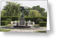 Levi L. Barbour Memorial Fountain Greeting Card