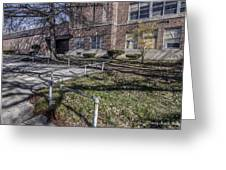 Lew Wallace High School April 2015 016 Greeting Card
