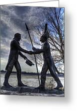 Lewis And Clark Greeting Card