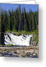 Lewis Falls Greeting Card