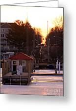Lexington Harbor Greeting Card