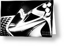 Lexus Bw Abstract Greeting Card
