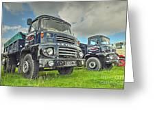 Leyland Comet Greeting Card