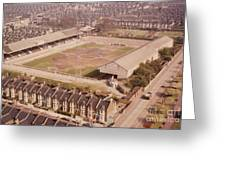 Leyton Orient - Brisbane Road - Aerial View 1 - Looking South East Greeting Card