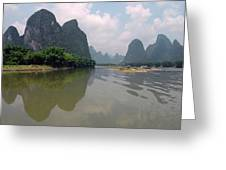 Li River At Xingping Greeting Card