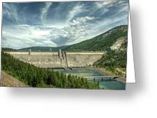 Libby Dam Greeting Card