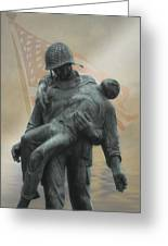 Liberation Monument Greeting Card