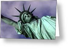 Liberty 2 Greeting Card