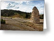 Liberty Cap - Yellowstone Greeting Card