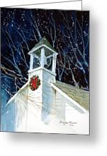 Liberty Christmas Greeting Card