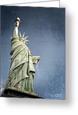 Liberty Enlightening The World Greeting Card