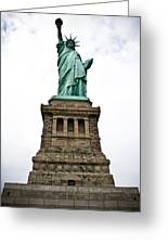 Liberty Enlightening The World Greeting Card
