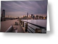 Liberty State Park Greeting Card