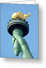 Liberty Torch Greeting Card