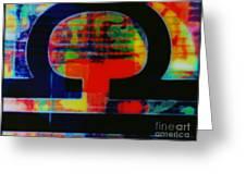 Libra Greeting Card