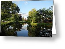 Lichfield Cathedral Reflectons Greeting Card