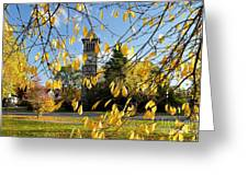 Lichfield Clock Tower Greeting Card