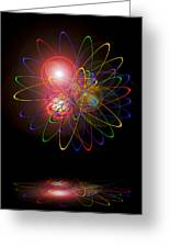 Light And Energy Greeting Card