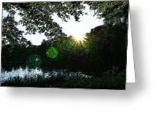 Licht Greeting Card