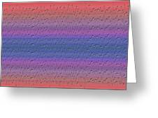 Lie Detector Abstract Design Greeting Card
