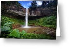 Lieng Nung Waterfall Greeting Card