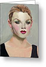 Liepke Color Palette Lady Greeting Card