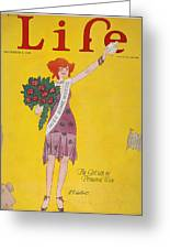Life Cover, 1926 Greeting Card