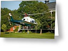 Life Flight Training Greeting Card