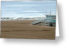 Life Guard Stand - Color Greeting Card