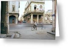 Life In Cuba Greeting Card