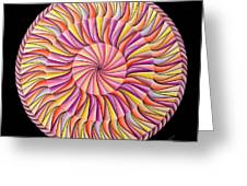 Life In Movement Greeting Card by Marcia Lupo