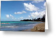 Life In The Country Hawaii Greeting Card