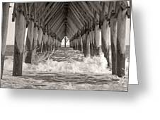 Life Is Good On Topsail Scp Greeting Card