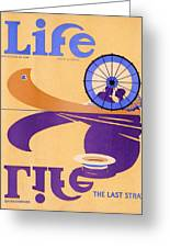 Life Magazine, 1926 Greeting Card