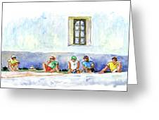 Life On Culatra Island Greeting Card