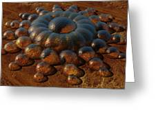 Life On Mars Greeting Card