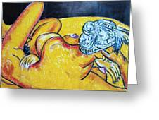 Life Study Of The Female Figure 15 Greeting Card