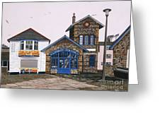 Lifeboat Station Greeting Card