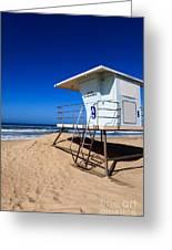 Lifeguard Tower Photo Greeting Card